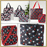 Disney MICKEY or MINNIE MOUSE Crossbody Bag or Overnight Tote Purse Travel