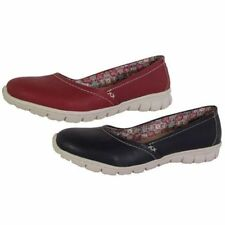 Skechers Leather Solid Shoes for Women