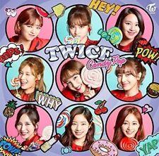 LIKE New TWICE Candy Pop First Press Regular Edition CD Card Japan