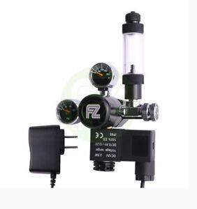 Aquarium Daul Outlet Mini Gauge CO2 Regulator with Bubble Counter Check Valve