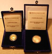 MONETE ORO €. 50,00 + L. 20,00 del 2003 ITALIA REPUBBLICA