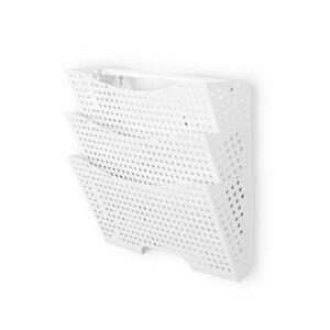 Wallniture Dots Lisbon Metal Wall File Holder Organizer for Organization and ...