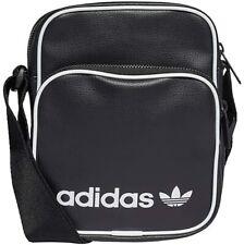 Adidas Originales Vintage Adultos Unisex mini bolso negro, NS GD4782