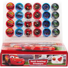 Disney Car Authentic Licensed 24 Self Inking Stampers Goodie Bags Fillers