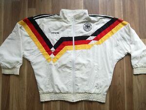 Adidas Vintage DFB Trainingsjacke 1990 Nationalmannschaft Deutschland Größe L
