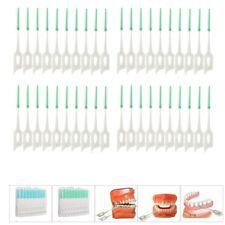EG_ 40 Pcs Toothpick Picks Soft Teeth Slit Brush Massager Oral Dental Health Flo