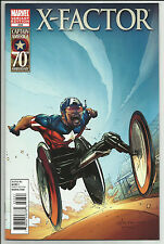 X-Factor #222 Larry Stroman Variant Captain America 70th Anniversary Marvel 2011