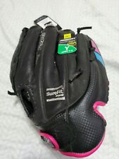 """Youth Softball Glove Left Hand Throw Mizuno Prospect Finch 12"""" Ages 7-8 New"""