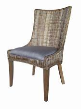 Helena Woven Dining Chairs Grey Wash - Set of 2