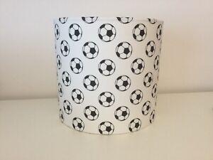 20cm Handmade drum Fabric Ceiling Shade Football bedroom / mancave