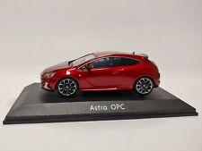 [NEU] Modellauto Opel Astra J GTC OPC 1:43, Powerrot metallic Sammler OC10048