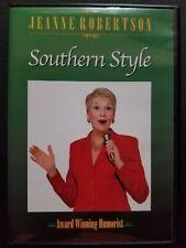 New listing Jeanne Robertson: Southern Style (DVD, 2004) Award Winning Humorist Comedy