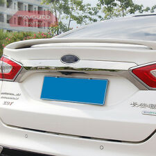 New ABS Chrome Rear Trunk Lid Trim For Ford Fusion Mondeo 2013 2014 2015 2016