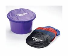 More details for horse feed bucket cover plain nylon morning fresh food pony stable yard field