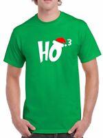 Ho3 #2 T-shirt Ho Ho Ho Christmas T Shirt Xmas Santa Claus Funny Humor Joke Tee