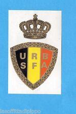 BELGIO-FOOTBALL 1972/73-PANINI-Figurina n.2- UNION ROYALE B - STEMMA/EMBLEEM-Rec