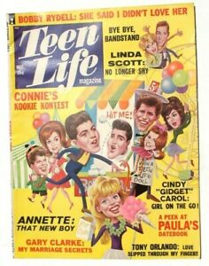 Vtg Johnny Crawford's Personal Star Celebrities Magazine - Oct 1963 Teen Life