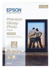 Epson Premium (13cm x 18cm) 255g/m2 Glossy Photo Paper (White) 1 Pack of 30