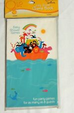 NEW~WHIMSICAL  ARK~ BABY SHOWER 1- GAME BOOK- PARTY SUPPLIES