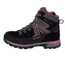 Karrimor Womens Hot Rock Walking Boots Lace Up Breathable Waterproof Leather