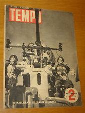 TEMPO 1942/155=MITRAGLIERA=SPECIALE ATTORI ITALIANI=ARTURO TOFANELLI=LITTORIA=