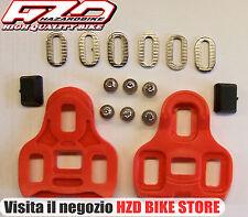 Placche/tacchette di ricambio per pedali sgancio rapido compatibil Look  KEO
