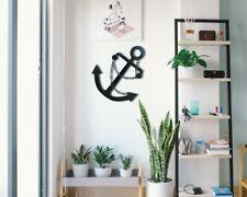 "New ListingMetal Anchor Nautical Wall Decor Brand New Black Powder Coating 36"" H x 30"" W"