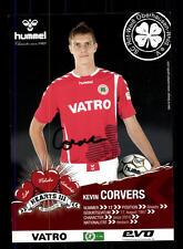 Kevin Corvers Autogrammkarte Rot Weiss Oberhausen 2011-12 Original + A 148071