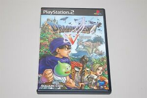 Dragon Quest V 5 : Hand of the Heavenly Bride Japan Sony Playstation 2 PS2 game