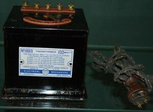 Prewar Ives Electric Toy Train Model Accessory Transformer 1889