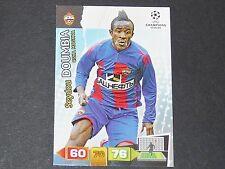 DOUMBIA CSKA MOSCOU UEFA PANINI CARD FOOTBALL CHAMPIONS LEAGUE 2011 2012