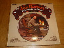 JIM REEVES - Welcome to my world - 1970'S UK RCA Camden 12-track vinyl LP