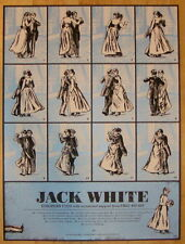 2012 Jack White - European Tour Silkscreen Concert Poster by Rob Jones S/N