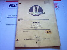 8000 9000 Vintage Ford Tractor I&T Shop Service Manual 8000 9000