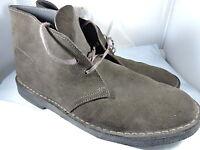 CLARKS Originals Desert London Lace Up Brown Suede 11826 Men's Shoes 11.5 US