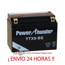 Thunder Power RC YTX9-BS 12V Batería para Moto Cellada