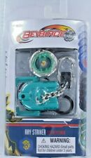 Beyblade RAY STRIKER Top Keychain Keyring w/ Launcher, Ripcord NEW S5 Mini 1942