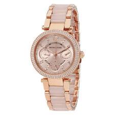 Women's Watch Michael Kors MK6110 Parker Mini Dress Watches Quartz Day and Date