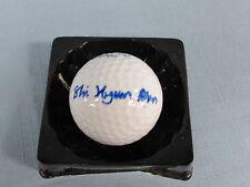Shi Hyun Ahn Signed Golf Ball COA