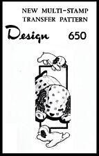 Stuffed Amimal Pattern Sleeping PUPPY Dog TOY PUP Design #650 GIRL BOY Child KID