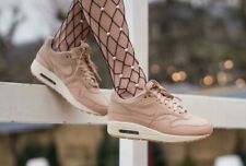 WOMENS NIKE AIR MAX 1 PRM ,,BIO BEIGE'' SIZE UK 5.5 EUR 39 US 8 (BV0310 200)