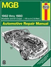 MGB AUTOMOTIVE REPAIR MANUAL - FOWLER, JOHN/ HAYNES, J. - NEW PAPERBACK BOOK