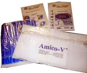 Amico - 2in1 Spucktüte und Notfall Urinbeutel mit 2 superabsorber Gel Einlagen