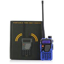 Baofeng UV-5R Plus Qualette Blue Dual-Band VHF UHF Ham Two-way Radio Transceiver