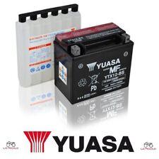 BATTERIA YUASA YTX12-BS PIAGGIOBeverly Rst 4T 4V IE E3 300 2010 2011 2012 2013