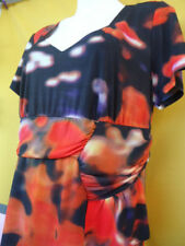 Polyester Blend Hand-wash Only Plus Size Dresses for Women