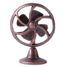 1:12 Scale Dollhouse Miniature Retro Copper Electric Fan Fairy Home Furniture