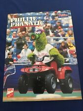 The Phillie Phanatic 1997 Limited Edition Photo /3000 Phillies SGA