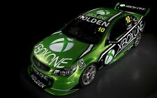 """1:10 RC Clear Lexan body """"XBox One Racing"""" Commodore 200mm Nitro or Electric"""