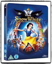 Disney #1 Snow White 1937 / Blanche Neige Blu-ray Steelbook Limited Edition
